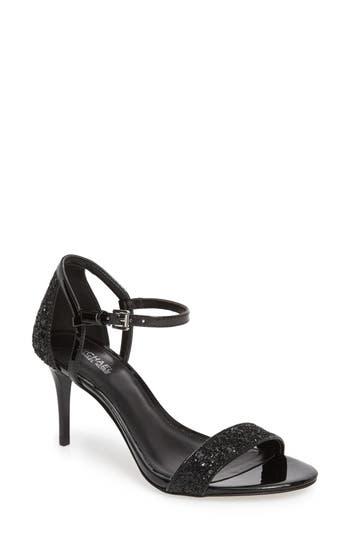 Women's Michael Michael Kors 'Simone' Sandal, Size 8 M - Black