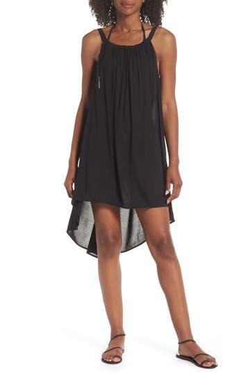 ELAN Dip-Dye Cover-Up Dress in Black