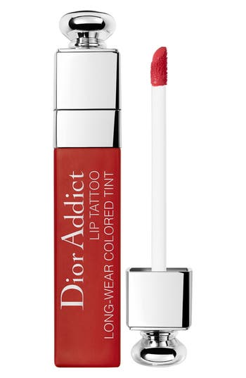 Dior Addict Lip Tattoo Long-Wearing Color Tint - Natural Red