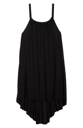 Elan Dip-Dye Cover-Up Dress, Black