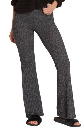 Billabong Only Dreamin Flare Pants, Grey