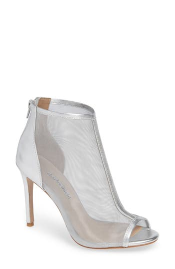 Charles David Court Mesh Bootie, Metallic