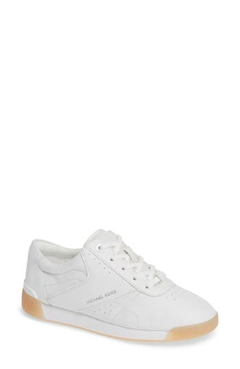 Addie Lace-Up Sneaker, Optic White