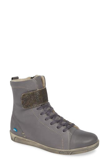 Cloud Amos Wool Lined Bootie - Grey