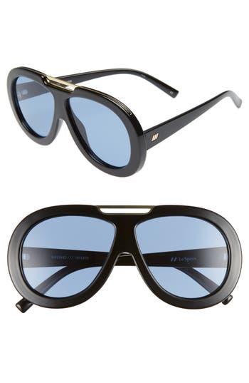 Le Specs Inferno 5m Aviator Sunglasses - Black
