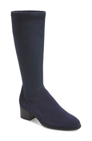 Bos. & Co. Rally Waterproof Knee-High Boot - Blue