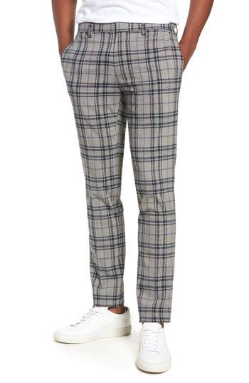 Men's Vintage Style Clothing Mens Topman Classic Fit Suit Trousers Size 3230 - Grey $110.00 AT vintagedancer.com