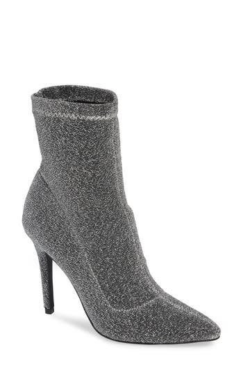 Charles By Charles David Puzzle Sock Bootie, Grey