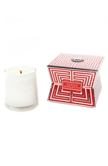 Votivo 'Soziety' Soy Wax Candle, Size One Size - Red