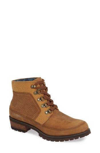 The North Face Bridgeton Waterproof Lace-Up Boot- Brown