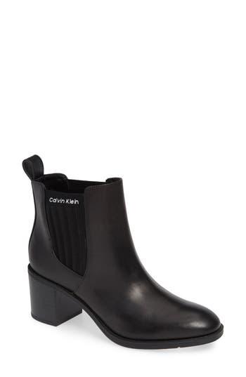Calvin Klein Perron Chelsea Bootie, Black