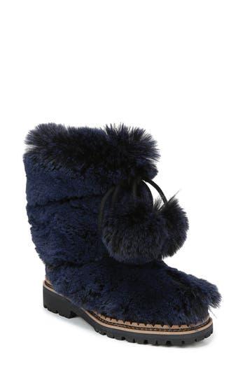 Sam Edelman Blanche Faux Fur Boot, Blue