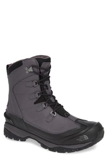 The North Face Chilkat Evo Waterproof Insulated Snow Boot, Grey