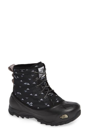 The North Face Tsumoru Waterproof Insulated Snow Boot- Black