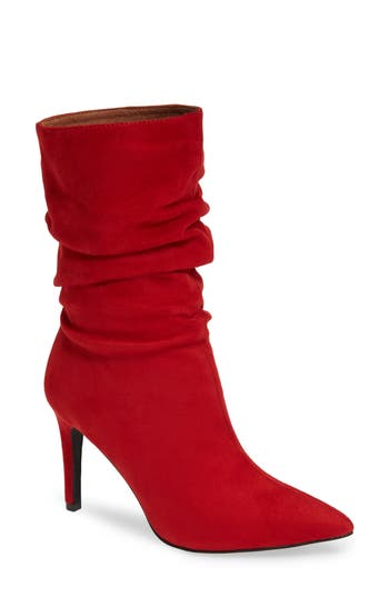 Jeffrey Campbell Guillot Boot, Red