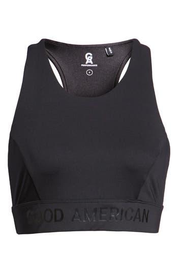 Plus Size Good American Reflective Sports Bra