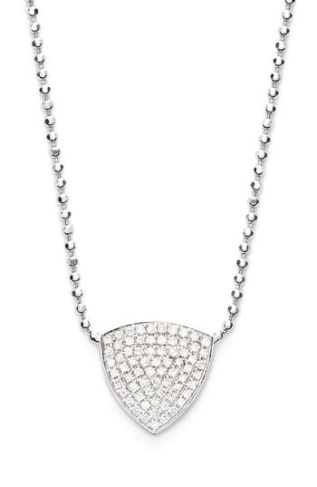Women's Bony Levy 'Aurora' Diamond Pavé Triangle Necklace (Limited Edition) (Nordstrom Exclusive)