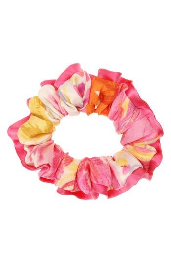 L. Erickson Silk Scrunchie, Size One Size - Pink