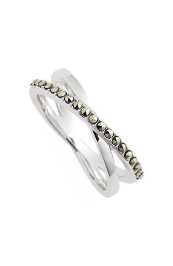 Women's Judith Jack Crisscross Marcasite Ring