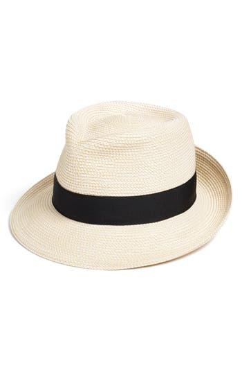 Women's Eric Javits 'Classic' Squishee Packable Fedora Sun Hat - Ivory