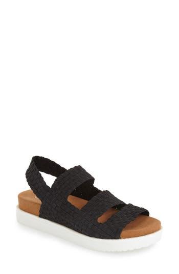 Women's Bernie Mev. 'Crisp' Woven Platform Sandal