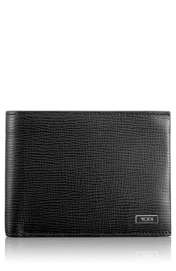 Men's Tumi 'Monaco' Global Leather Wallet With Coin Pocket -