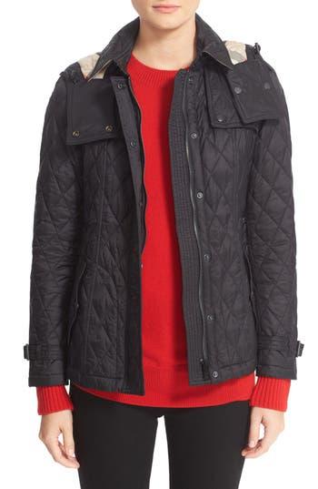 Women's Burberry Finsbridge Short Quilted Jacket