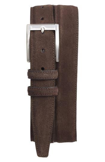 Big & Tall Torino Belts Suede Belt, Espresso