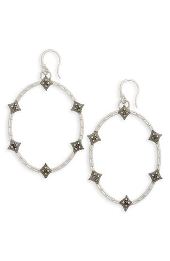 Women's Armenta Old World Crivelli Oval Drop Diamond Earrings