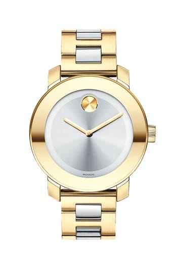 Women's Movado 'Bold' Round Bracelet Watch, 36Mm