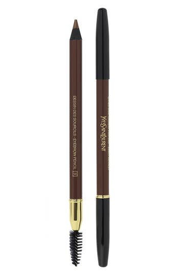 Yves Saint Laurent Eyebrow Pencil - 002 Dark Brown