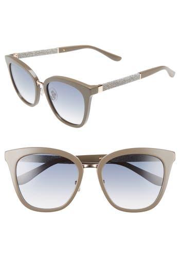 Jimmy Choo Fabry 5m Sunglasses - Grey