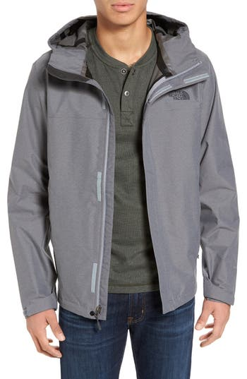 Men's The North Face Venture Ii Raincoat, Size Medium - Grey