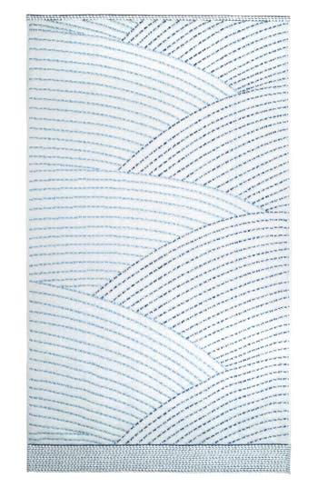 John Robshaw Sazid Bath Towel, Size One Size - Blue