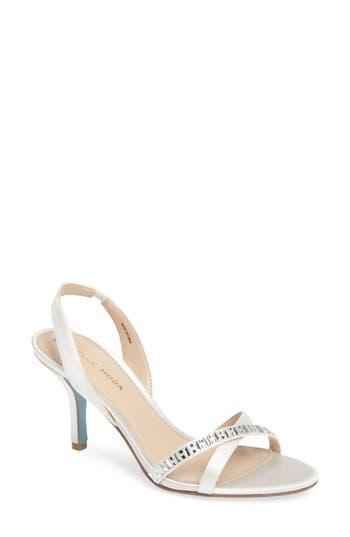 Pelle Moda Inna Embellished Slingback Sandal