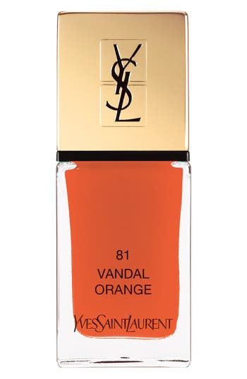 Yves Saint Laurent 'La Laque Couture' Nail Lacquer - 81 Vandal Orange
