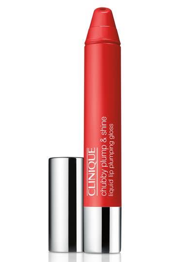 Clinique Chubby Plump & Shine Liquid Lip Plumping Gloss - Super Scarlet