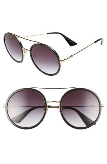 Gucci 5m Round Sunglasses -