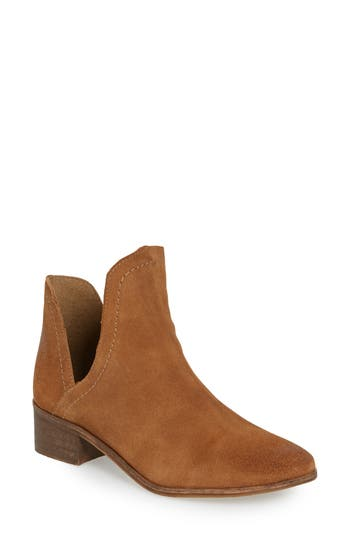 Matisse Pronto Split Shaft Bootie, Brown