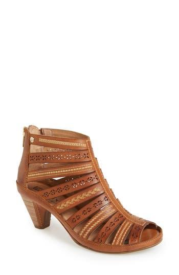 Women's Pikolinos 'Java' Leather Gladiator Sandal, Size 39 EU - Brown