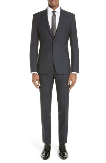 Men's Givenchy Madonna Collar Wool Suit