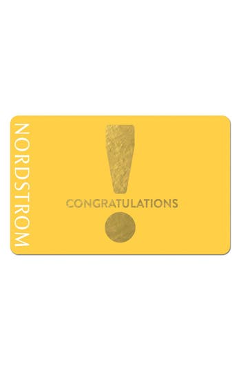 Nordstrom Congratulations! Gift Card $300