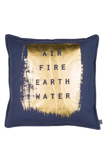 Eightmood Elements Accent Pillow, Size One Size - Blue