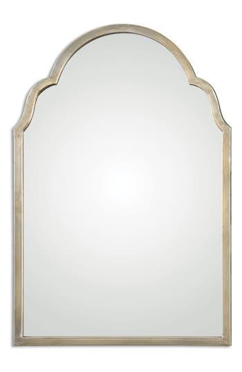 Uttermost Brayden Small Arch Mirror, Size One Size - Metallic