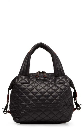 Mz Wallace 'Small Sutton' Quilted Oxford Nylon Crossbody Bag -
