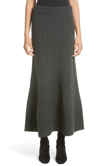 Women's Stella Mccartney Knit Wool Maxi Skirt