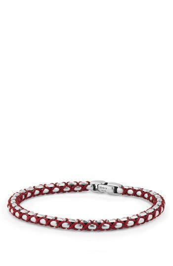 Men's David Yurman Chain Woven Bracelet