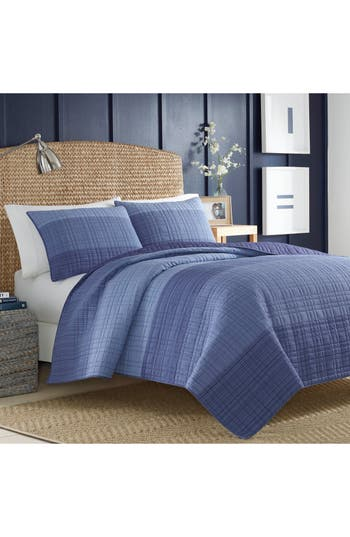Nautica Riverview Quilt, Size Twin - Blue