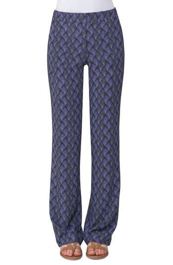 Women's Akris Punto Marla Print Wide Leg Pants