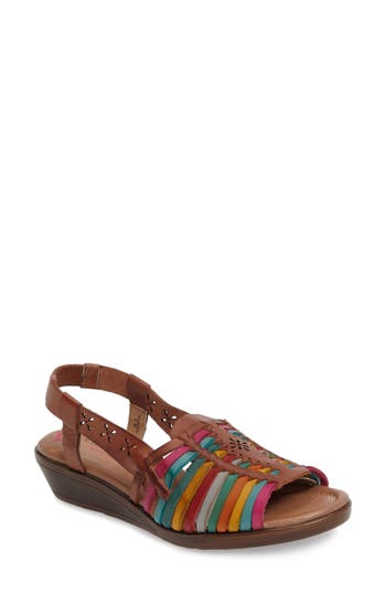 Comfortiva Formasa Huarache Slingback Sandal, None